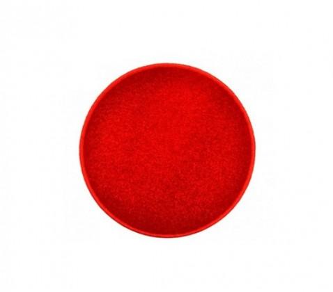 Nábytek Eton - koberec, 57x57cm (100%PP, kulatý, červená)