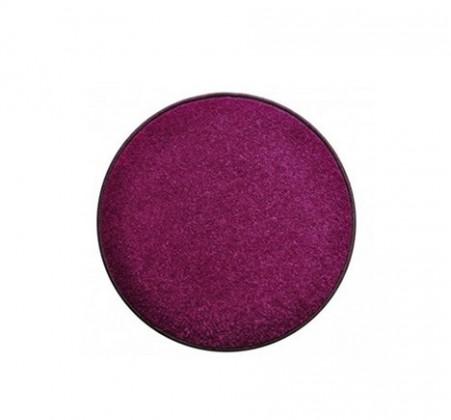 Nábytek Eton - koberec, 57x57cm (100%PP, kulatý, fialová)