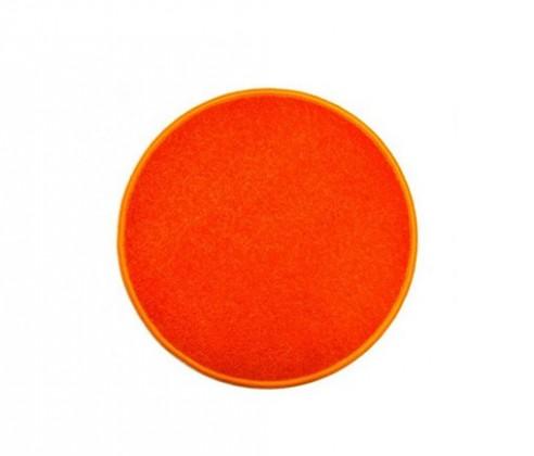 Nábytek Eton - koberec, 57x57cm (100%PP, kulatý, oranžová)