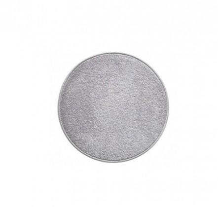 Nábytek Eton - koberec, 57x57cm (100%PP, kulatý, šedá)