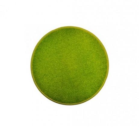 Nábytek Eton - koberec, 57x57cm (100%PP, kulatý, zelená)