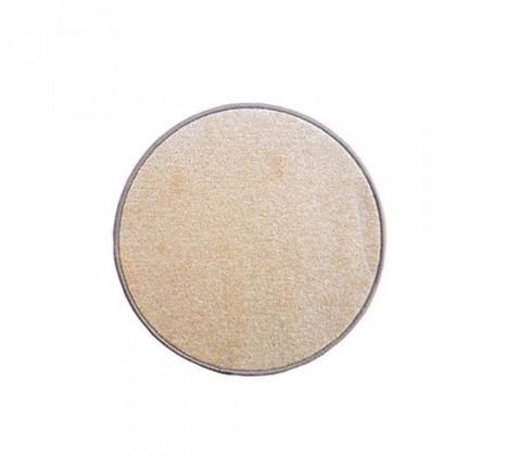 Nábytek Eton - koberec, 80x80cm (100%PP, kulatý, béžová)