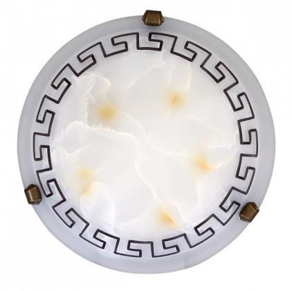 Nábytek Etrusco - Nástěnná svítidla, E27 (řecké vzory/bronzová )