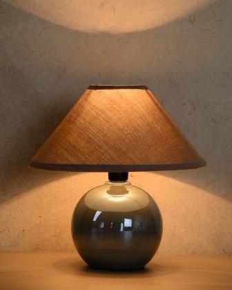 Nábytek Faro - lampička, 40W, E14 (stříbrná)