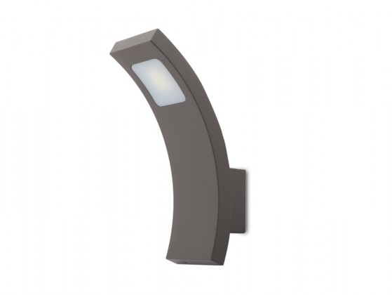 Nábytek Fiera N - Venkovní LED svítidlo, LED, 3W, 27x30x35 (hliník)