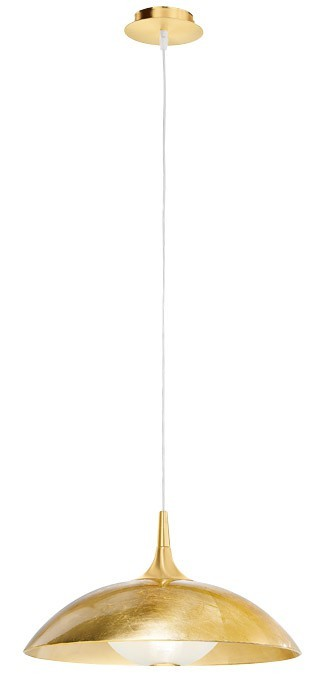 Nábytek Flat - E27, 100W, 45x174x45 (zlatá)