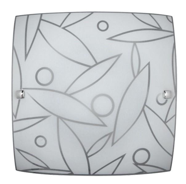 Nábytek Flower - Nástěnná svítidla, E27 (bílá se vzorem)