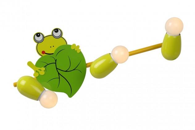 Nábytek Froggy - nástěnné osvětlení, 9W, 3xE14 (zelená)