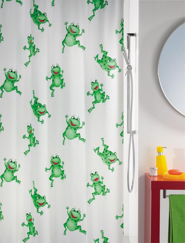 Nábytek Frogtime Sprchový závěs 180x200(zelená)