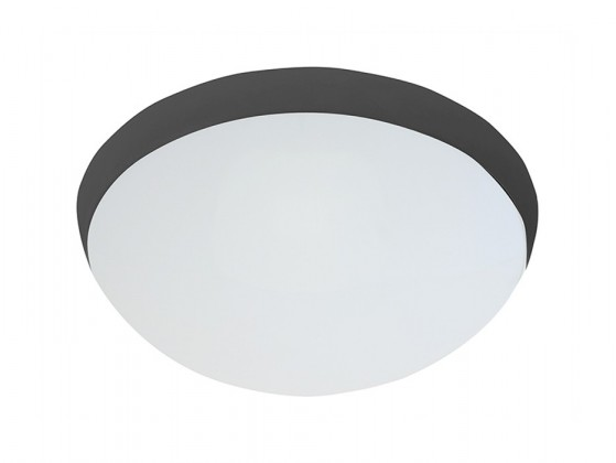 Nábytek Galia - Stropní svítidlo, E27, 75W (černá)
