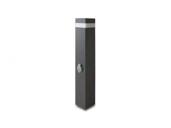 Nábytek Gard - Venkovní svítidlo, 16LED, 37x30x80 (hliník)