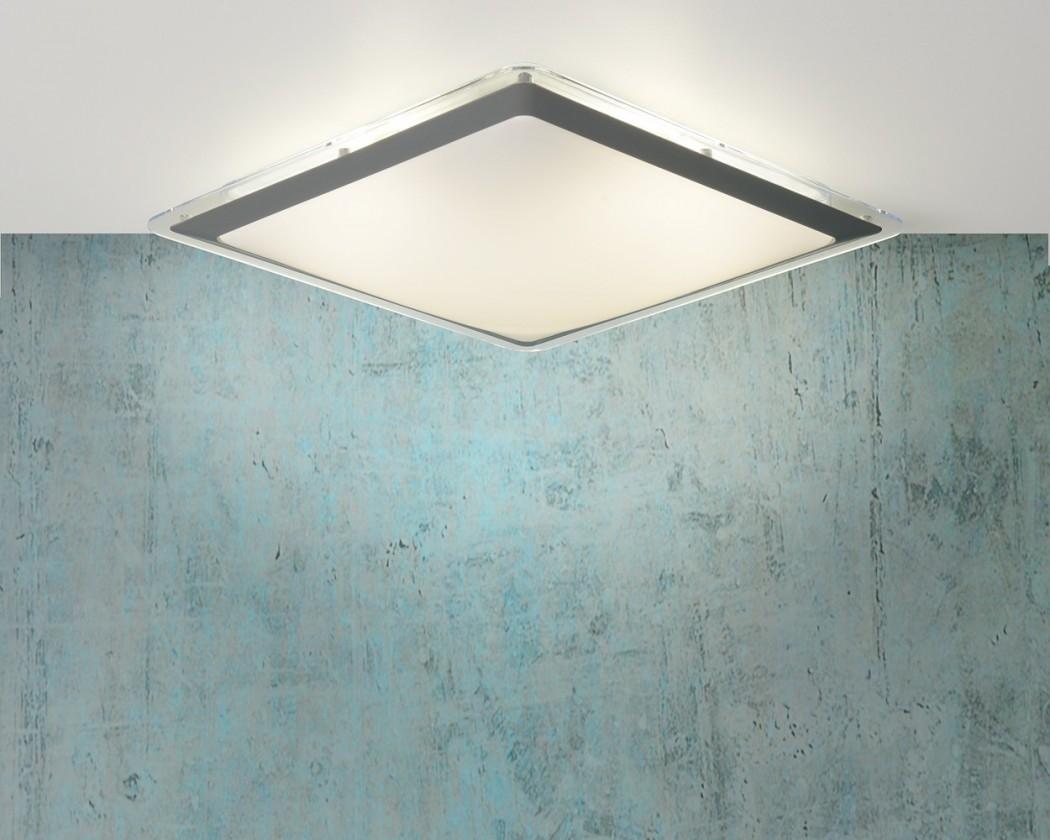 Nábytek Gently - stropní osvětlení, 22W, T5, 32 cm (šedá)