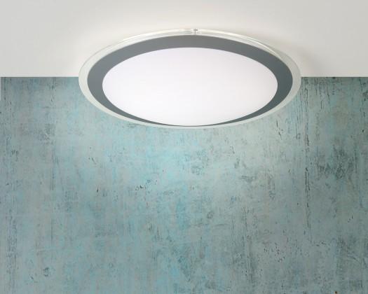 Nábytek Gently - stropní osvětlení, 22W, T5, 33 cm (šedá)