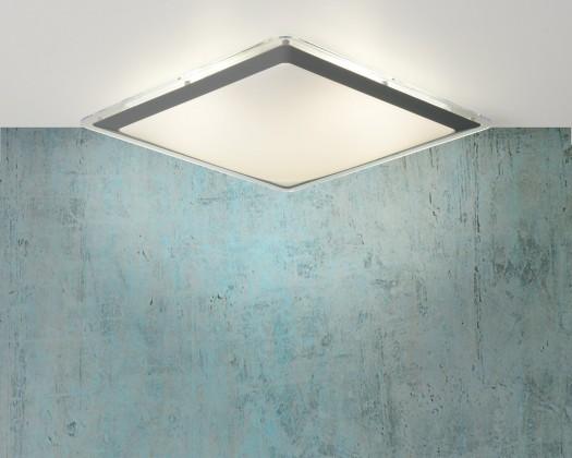 Nábytek Gently - stropní osvětlení, 22W, T5, 43 cm (šedá)