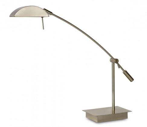 Nábytek Geos - lampička, 28W, G9 (stříbrná)