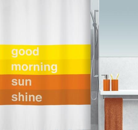 Nábytek Good morning-Sprch.závěs 180x200(oranžová)