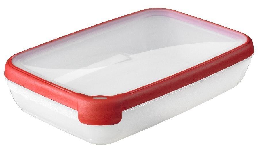 Nábytek GRAND CHEF, obdélník, 2,6l (plast,červená)