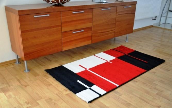 Nábytek Hawaii - koberec, 290x200cm (100%PP friese, červená)