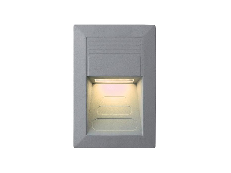 Nábytek Incast - Vestavné venkovní svítidlo, 1W (hliník)