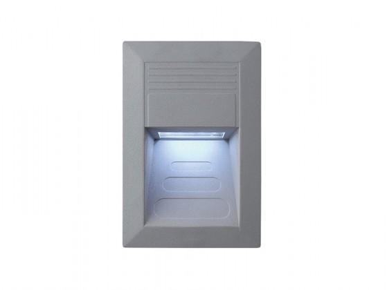 Nábytek Incast - Vestavné venkovní svítidlo, LED, 1W, 30x23x52 (hliník)