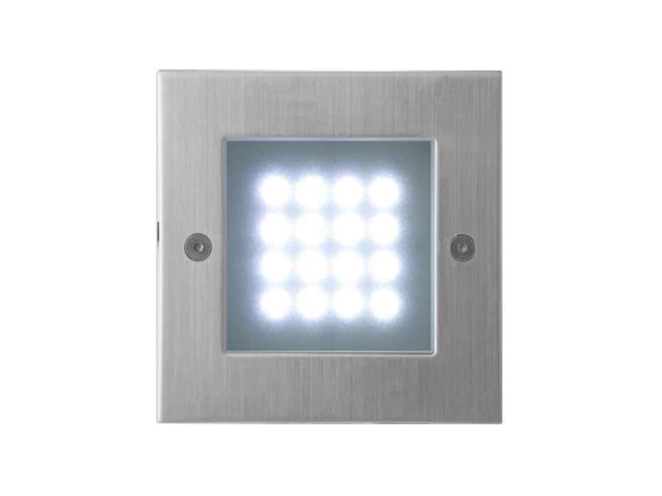Nábytek Index - Vestavné venkovní svítidlo, LED, 1W  (nerez)
