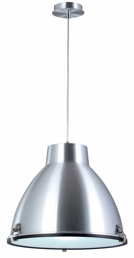 Nábytek Industry - stropní osvětlení, 60W, E27 (stříbrná)