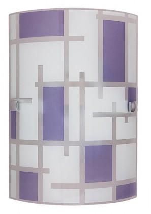 Nábytek Jody - Nástěnná svítidla, E27 (bílá/fialová)