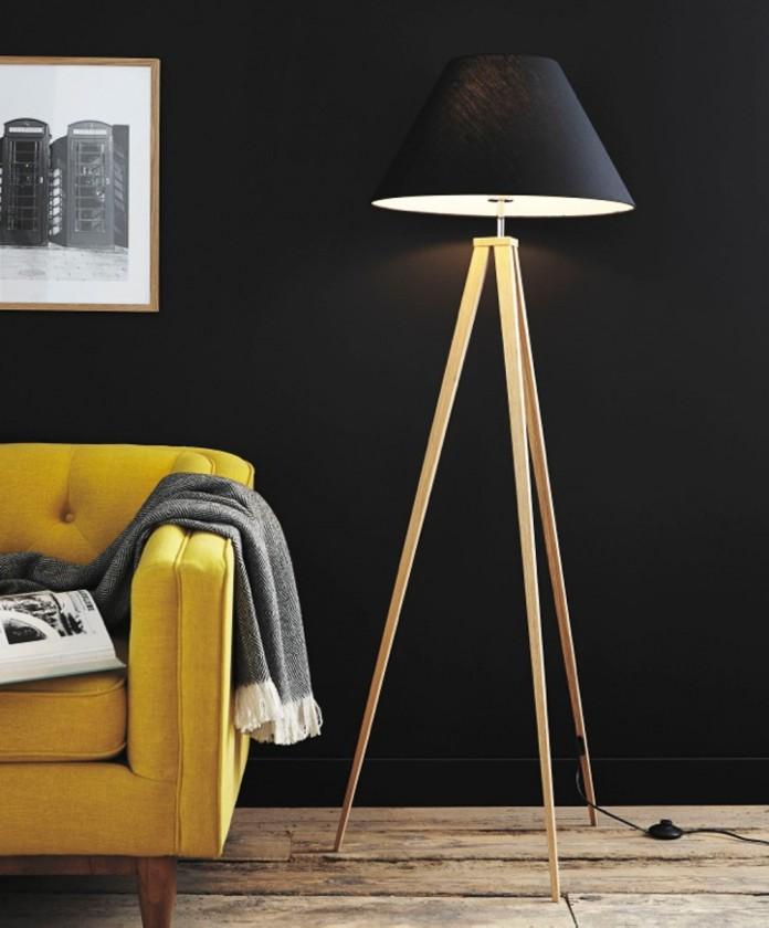 Nábytek Jolli - lampa, 60W, E27 (černá)