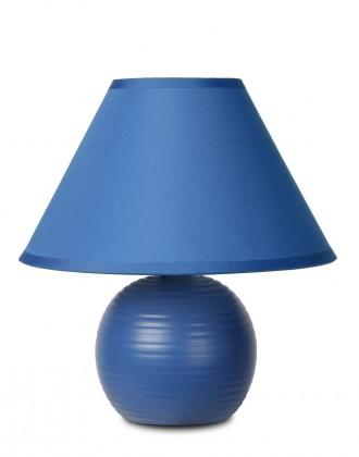 Nábytek Kaddy - lampička, 40W, E14 (modrá)