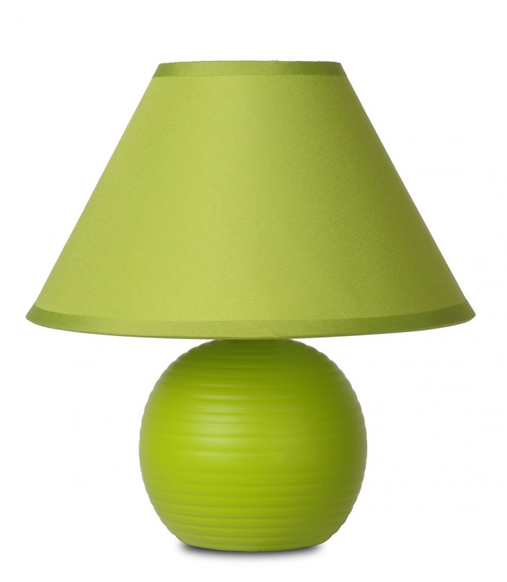 Nábytek Kaddy - lampička, 40W, E14 (zelená)
