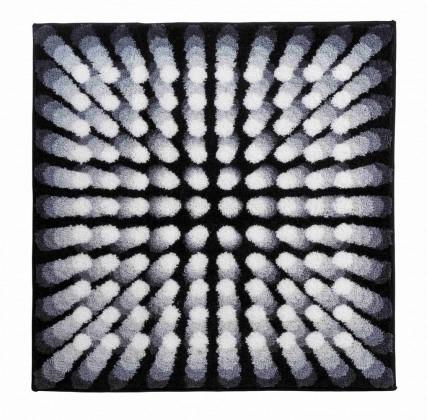 Nábytek Karim 07 - Koupelnová předložka 90x90 cm (černá)