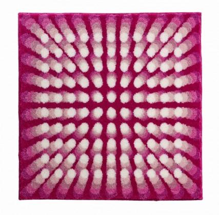 Nábytek Karim 07 - Koupelnová předložka 90x90 cm (růžová)