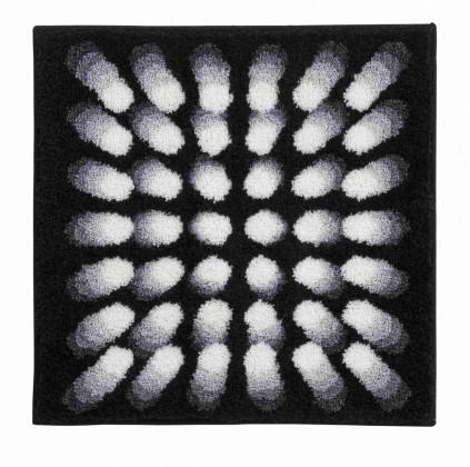 Nábytek Karim 07 - Koupelnová předložka malá 60x60 cm (černá)