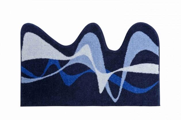 Nábytek Karim 19 - Koupelnová předložka 50x80 cm (modrá)