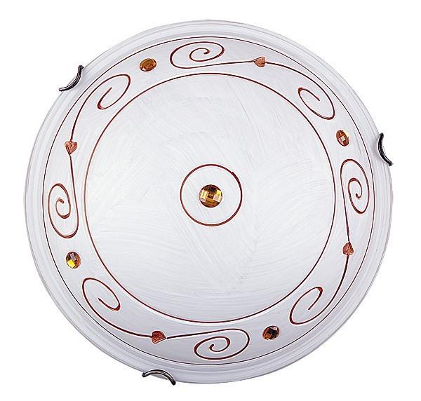 Nábytek Kleon - Nástěnná svítidla, E27 (alabastrová sklo/bronzová)