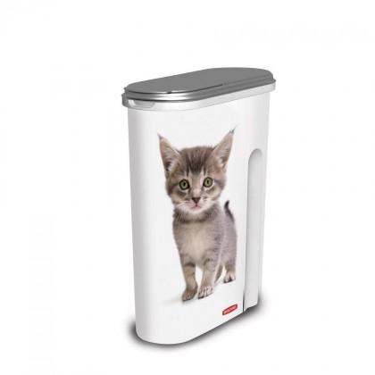 Nábytek Kontejner KOČKY, 1,5kg (plast,potisk kočky)