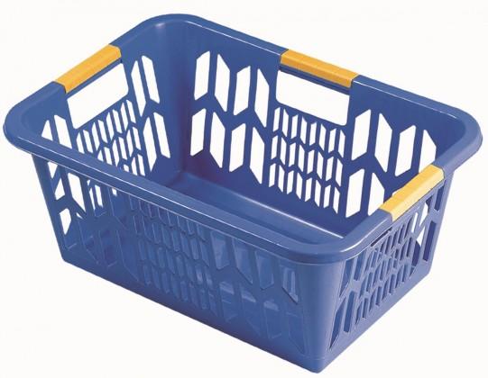 Nábytek Koš na čisté prádlo 1102, modrá
