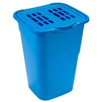 Nábytek Koš na špinavé prádlo 50l, modrá