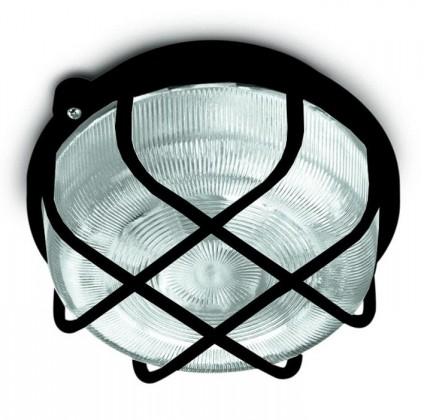 Nábytek Kruh - Stropní svítidlo, E27, 100W (černá)