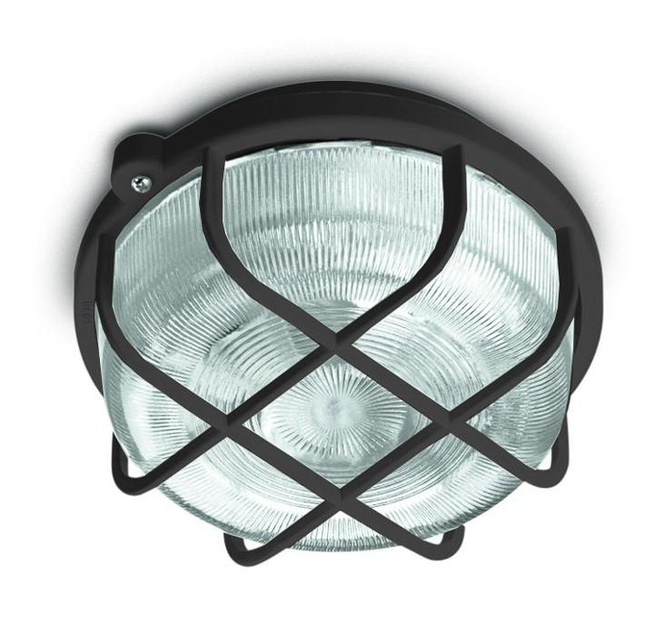 Nábytek Kruh - Stropní svítidlo, E27, 100W (šedá)