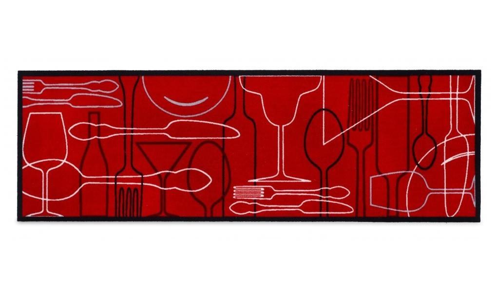 Nábytek Kuchyňská předložka Cosy table (červená)