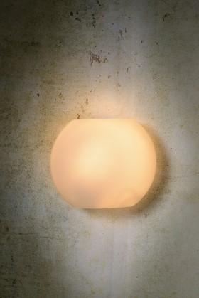 Nábytek Lagan - nástěnné osvětlení, 40W, E14 (bílá)