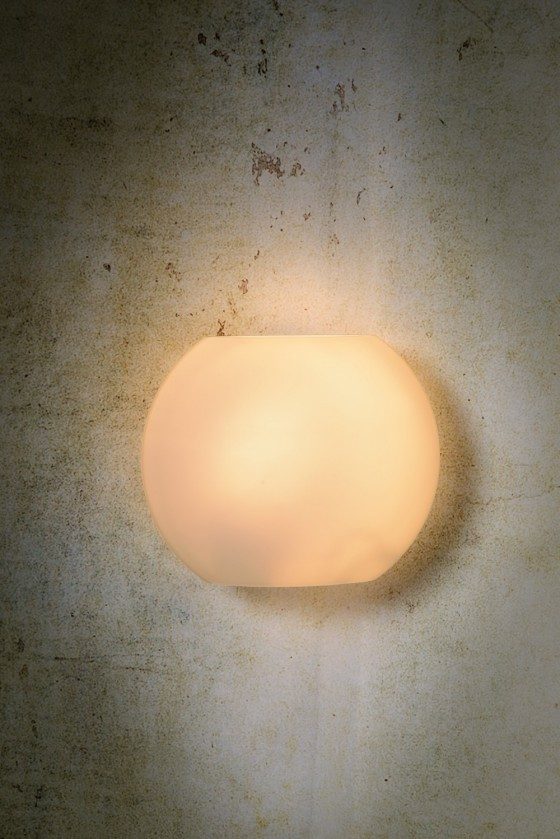 Nábytek Lagan - nástěnné osvětlení, 60W, E27 (bílá)