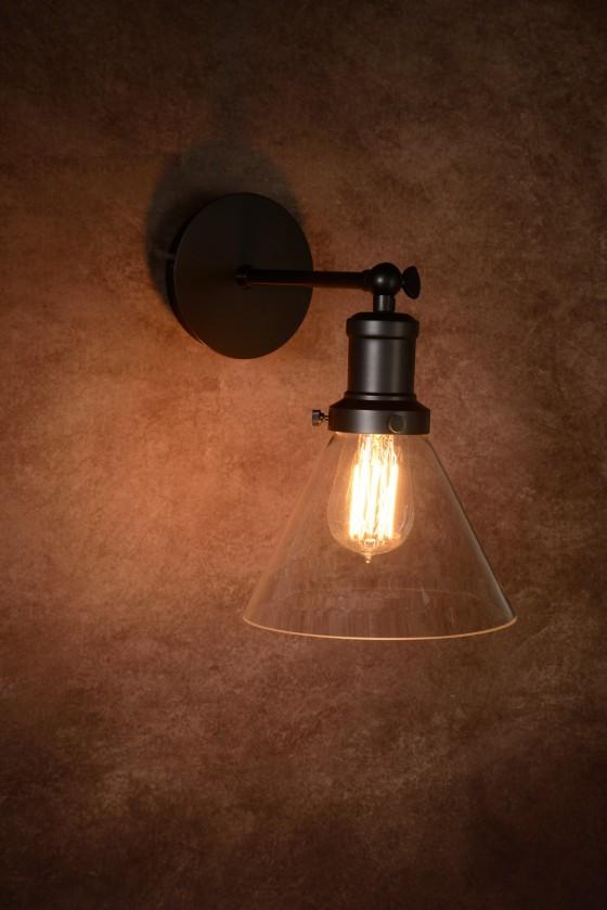 Nábytek Laren - nástěnné osvětlení, 60W, E27 (bílá)