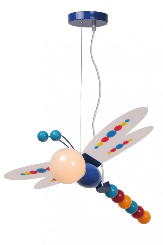 Nábytek Libelle - stropní osvětlení, 40W, E27 (modrá)
