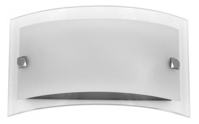Nábytek Line - Nástěnná svítidla, E14 (bílá/saténový chrom)