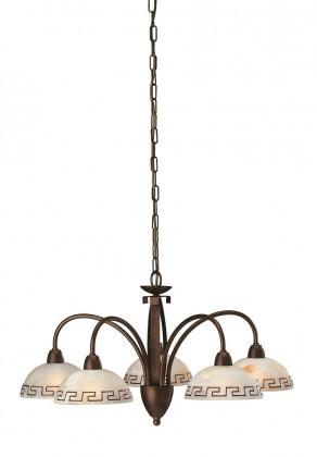 Nábytek Mambo - Stropní osvětlení E 14, 67cm (matovaná hnědá)
