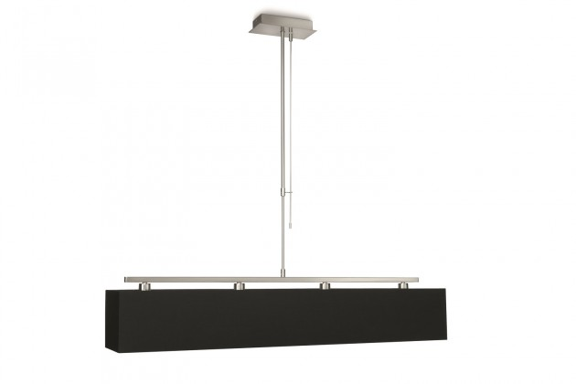 Nábytek Mambo - Stropní osvětlení E 14, 95,5cm (černá)