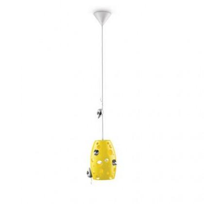 Nábytek Mambo - Stropní osvětlení E 27, 18,61cm (žlutá)