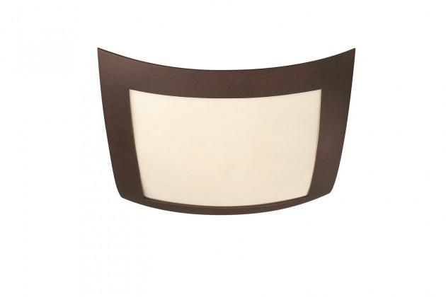 Nábytek Mambo - Stropní osvětlení E 27, 40x9,4x40 (rezavá)